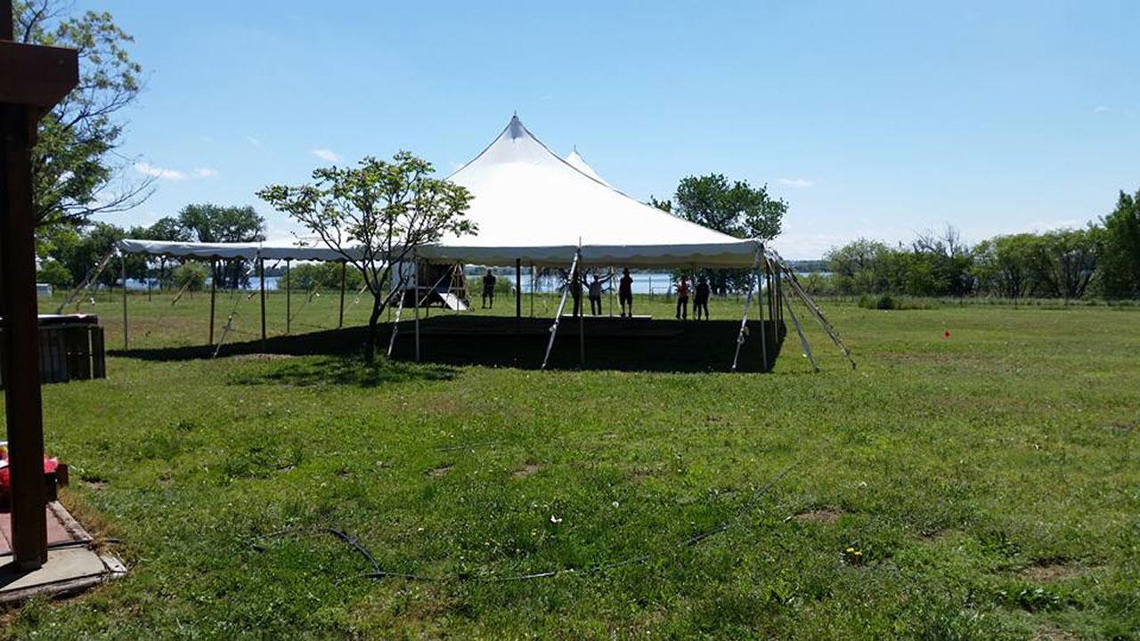 Rustic: Benson Tent Rent