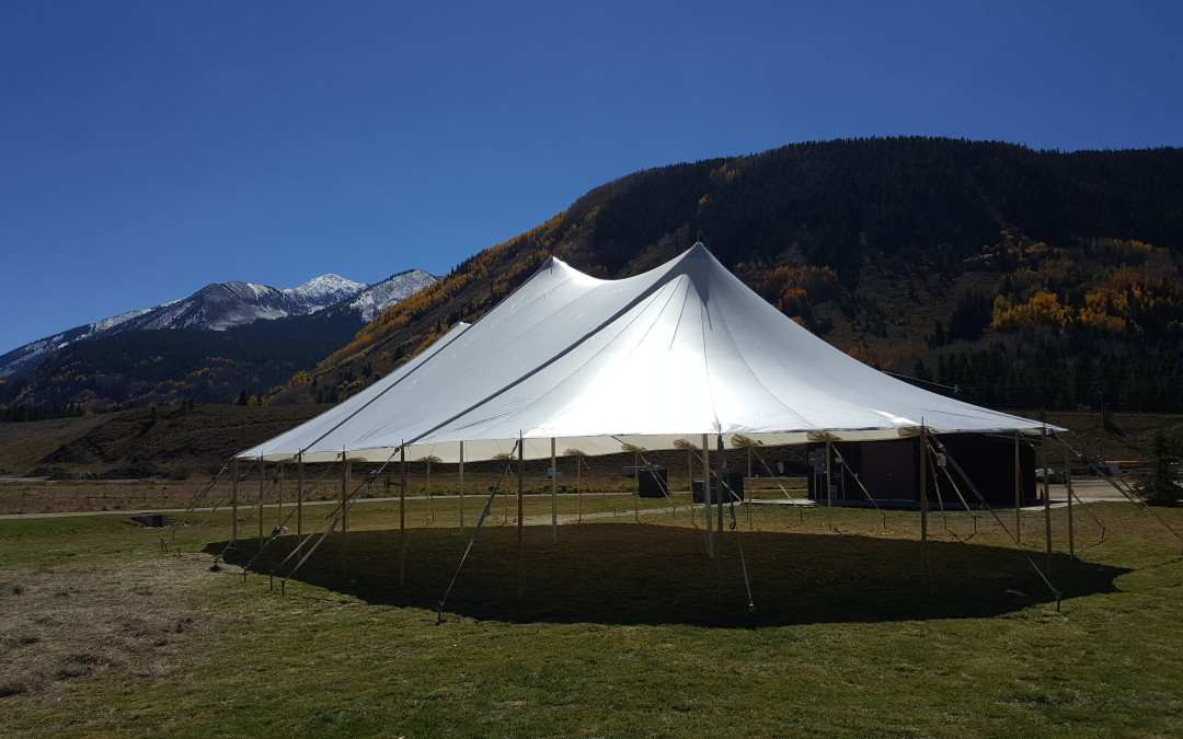 Tented Colorado Outdoor Wedding