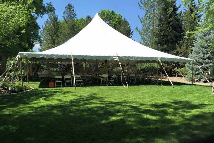 40x40 Wedding Tent
