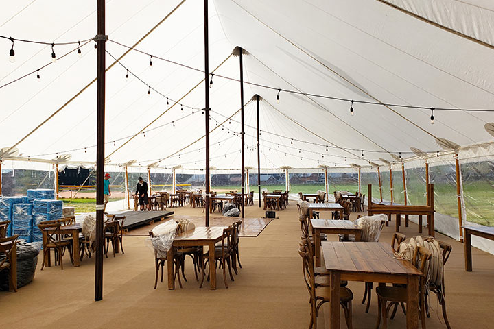 44x103 Premium Sailcloth Wedding Tent
