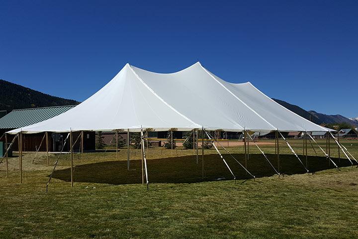 44x83 Premium Sailcloth Wedding Tent