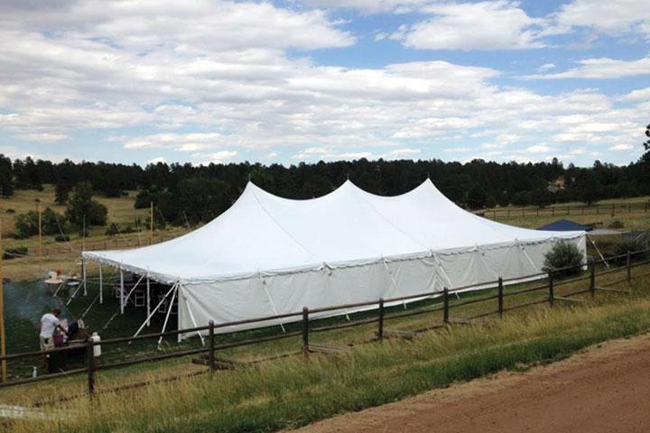 40x80 Wedding Tent Rentals