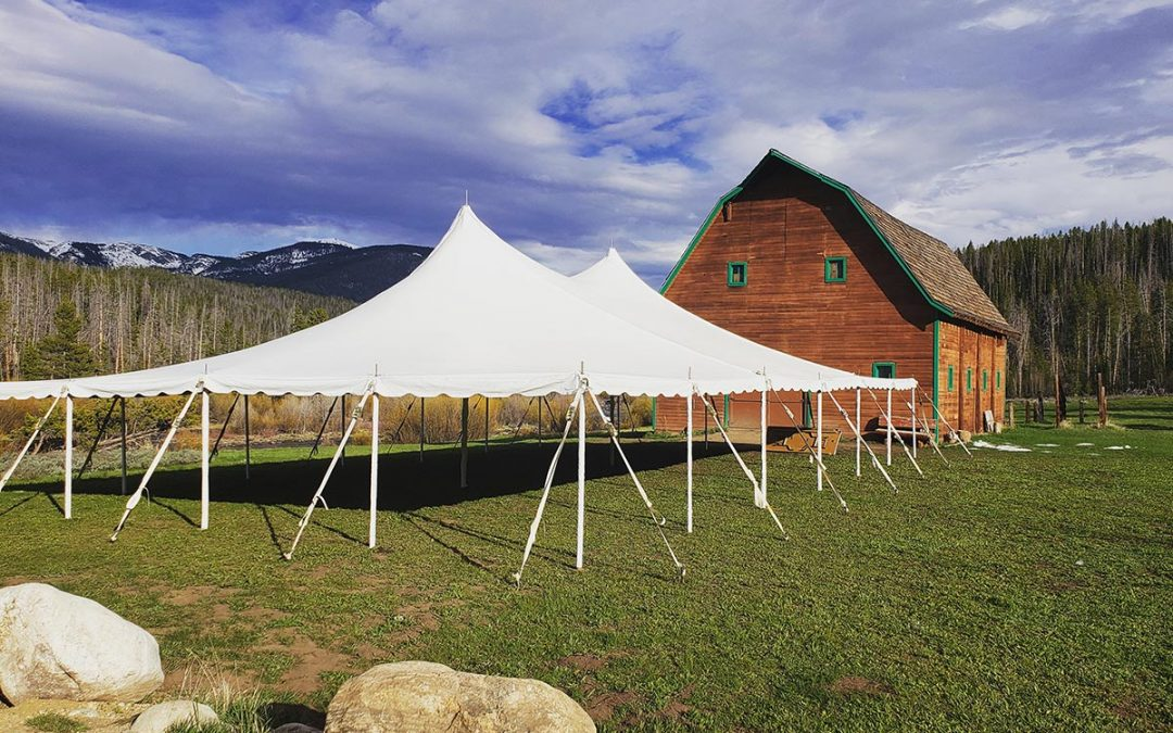 Benson Tent Rent's Top Wedding Venues in Colorado for 2020
