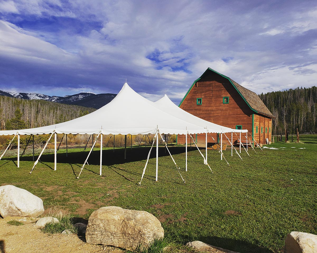 Top Wedding Venue - AA Barn Grand Lake Colorado