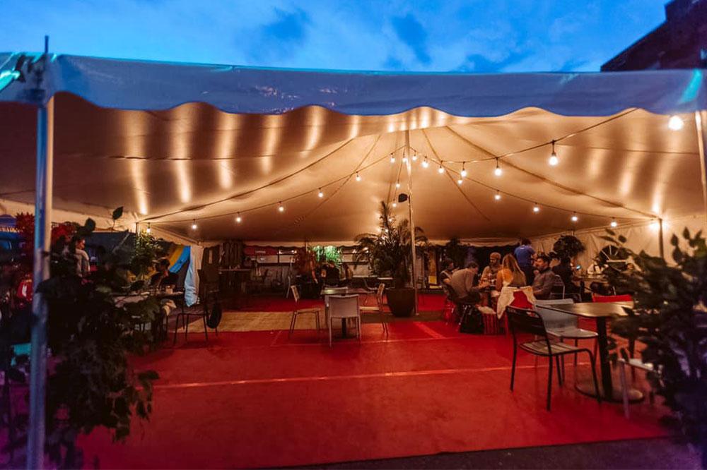Tents for Restaurants