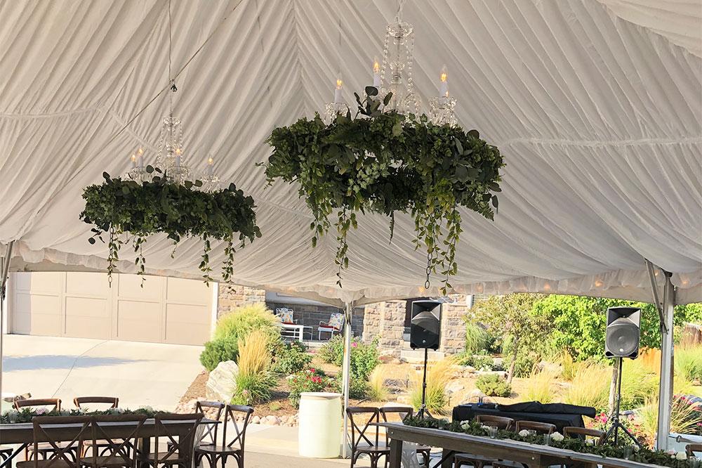 Decor for Restaurant Tents