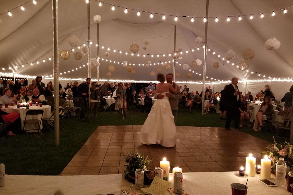 Outdoor Wedding Trends: Layered Lighting
