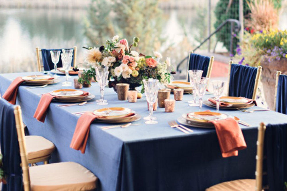 Outdoor Wedding Trends: Texture