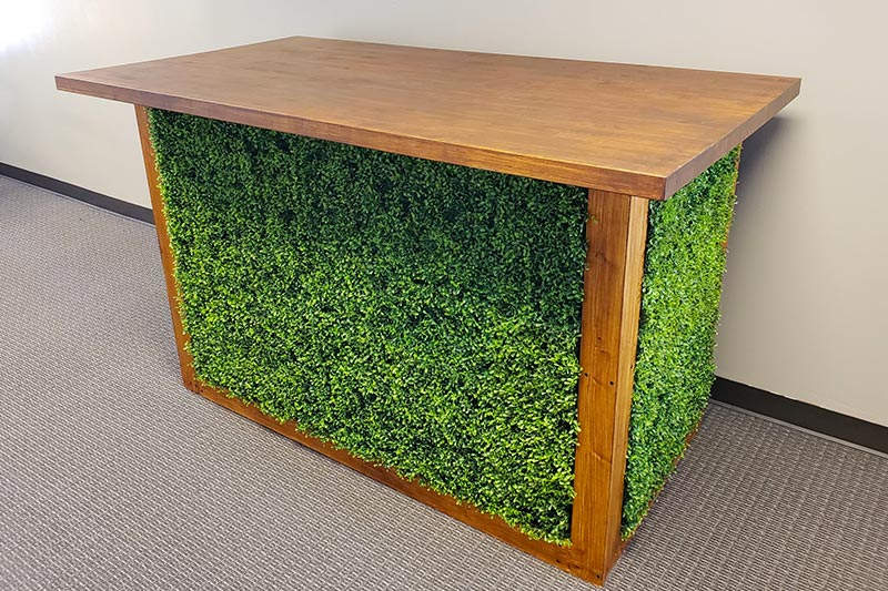 Boxwood Bar from Benson Tent Rent