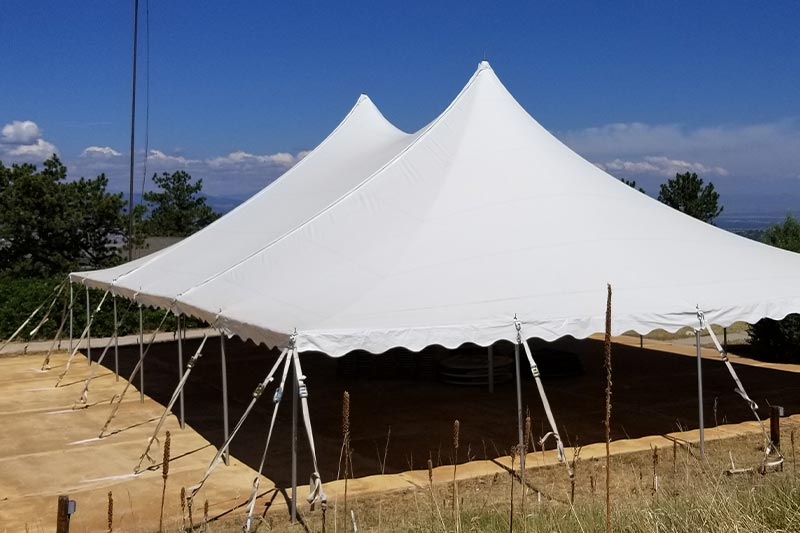 Outdoor Tent by Benson Tent Rent