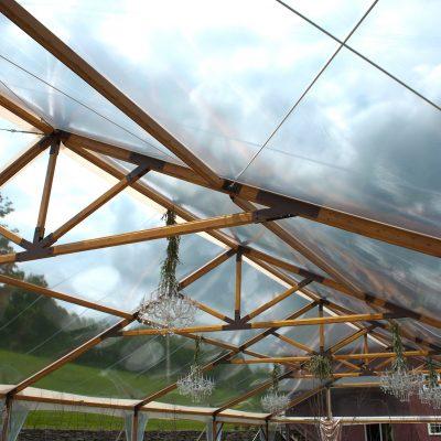 timberftrac frame rustic tent
