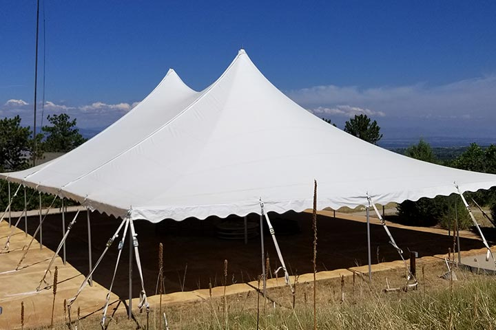 Tents can help Restaurants offer social distancing