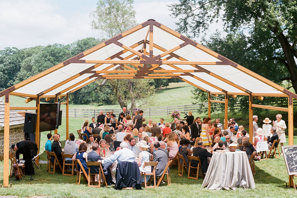 Timbertrac Tented Wedding