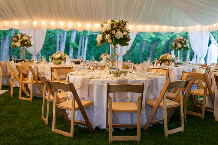 Wedding Tent Rentals from Benson Tent Rent