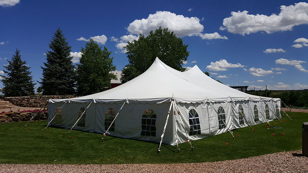 Pole Wedding Tent