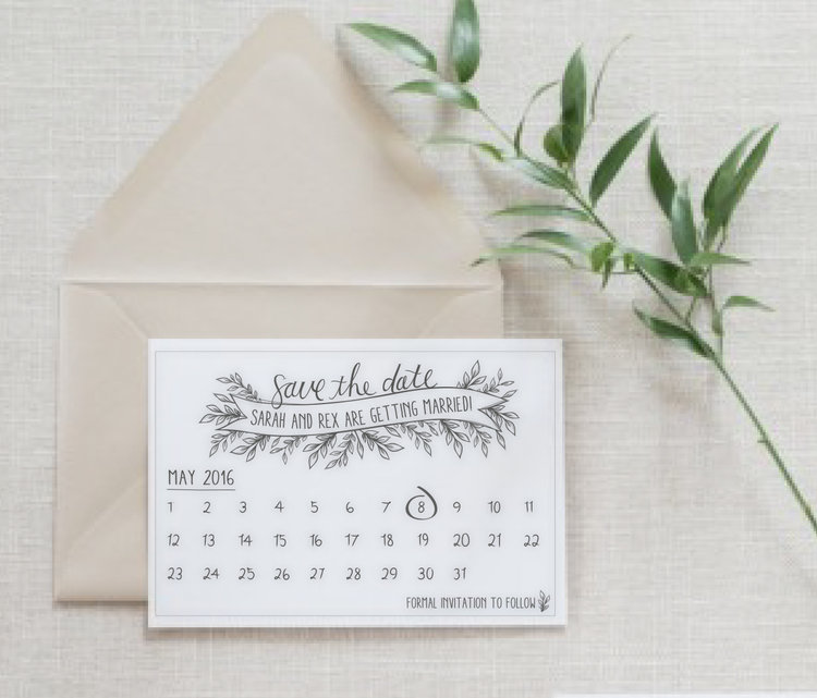 Wedding Trend: Custom Wedding Stationary