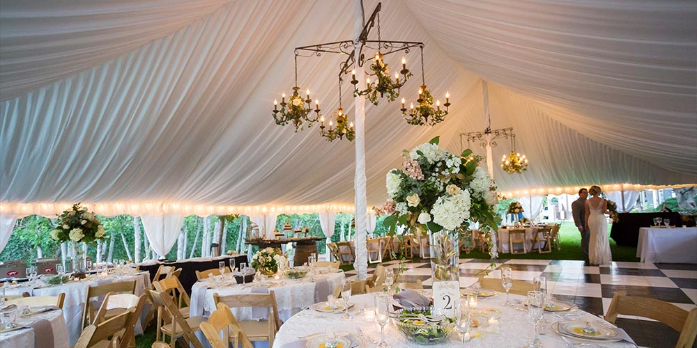 Wedding Tents by Benson Tent Rent