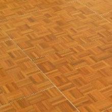 12′ x 12′ Oak Parquet dance floor