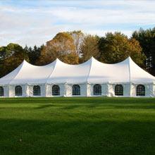 40′ x 100′ pole tent