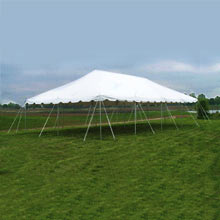20′ x 40′ pole tent