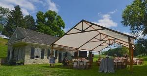 rustic tent